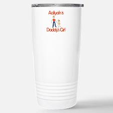 Aaliyah is Daddy's Girl Stainless Steel Travel Mug
