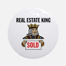 KING OF SOLD Ornament (Round)