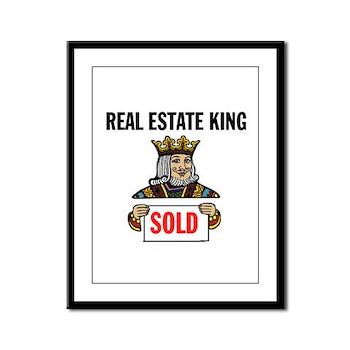 KING OF SOLD Framed Panel Print