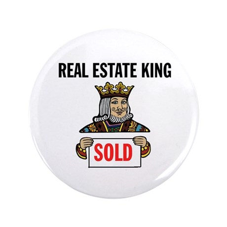 "KING OF SOLD 3.5"" Button"