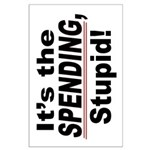 23x35 It's the SPENDING, Stupid Poster