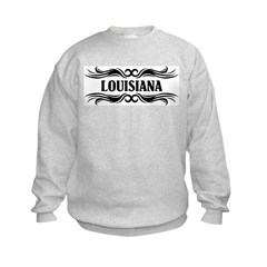 Tribal Tattoo Louisiana Sweatshirt