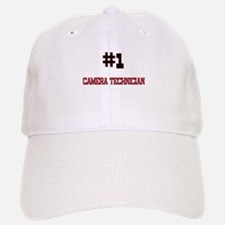 Number 1 CAMERA TECHNICIAN Baseball Baseball Cap