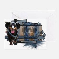 Hoover - My Doxie has Moxie Greeting Cards (Pk of