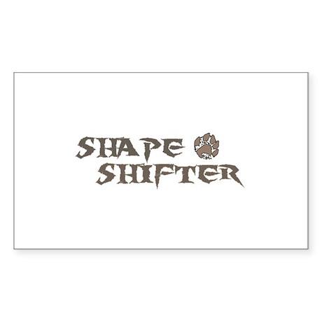 Shape Shifter Rectangle Sticker 50 pk)