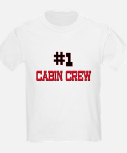 Number 1 CABIN CREW T-Shirt