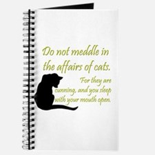 Don't Meddle with Cats Journal