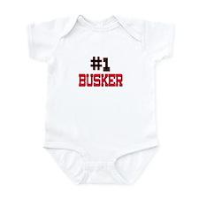 Number 1 BUSKER Infant Bodysuit