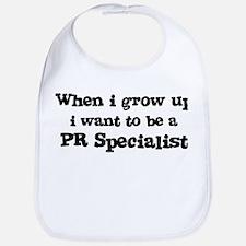 Be A PR Specialist Bib