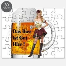 German Beer Girl Puzzle