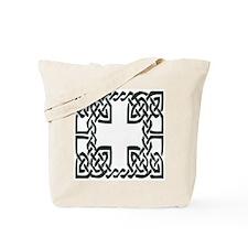 Cross Knot Frame Tote Bag