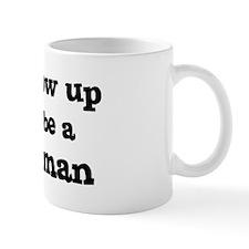 Be A Policewoman Mug