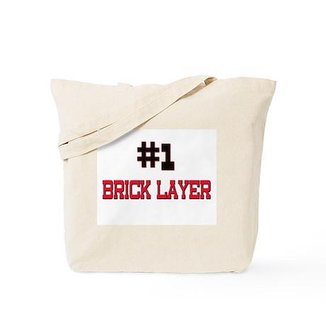 Number 1 BRICK LAYER Tote Bag