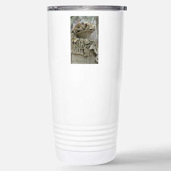 Flower Basket Stainless Steel Travel Mug