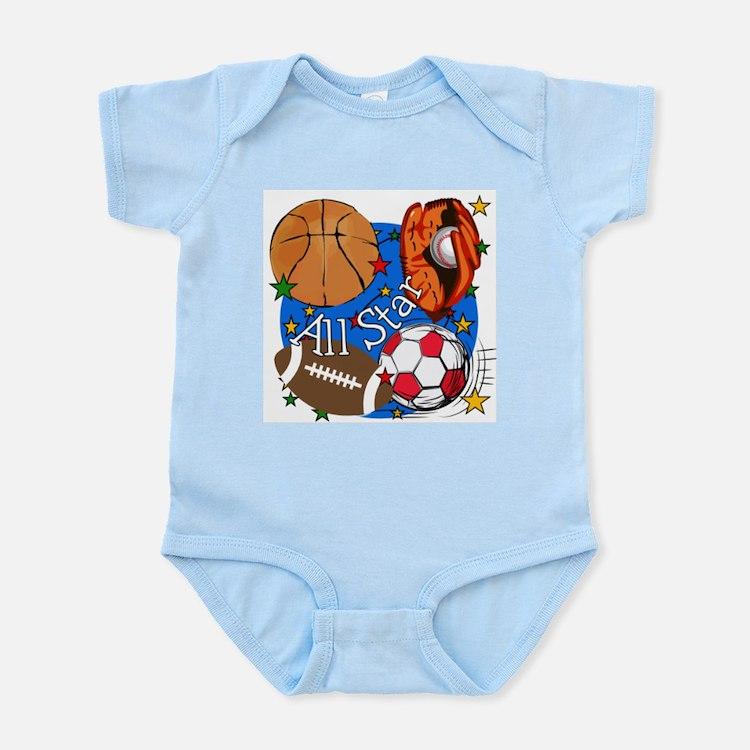 All Star Sports Infant Bodysuit