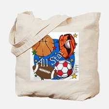 All Star Sports Tote Bag