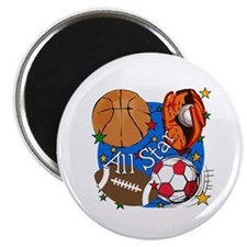 All Star Sports Magnet