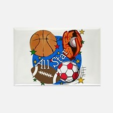 All Star Sports Rectangle Magnet