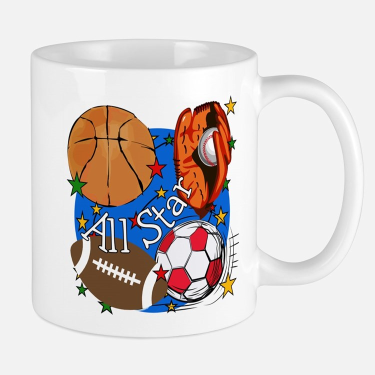 All Star Sports Small Small Mug