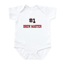 Number 1 BREW MASTER Infant Bodysuit