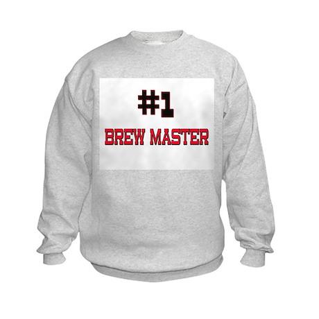 Number 1 BREW MASTER Kids Sweatshirt