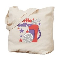 Little Golfer Tote Bag