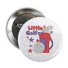 """Little Golfer 2.25"""" Button (10 pack)"""