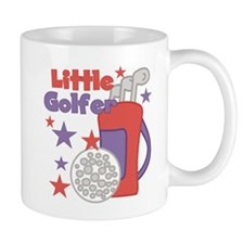 Little Golfer Small Mug