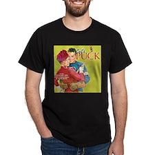 Let's Puck Black T-Shirt