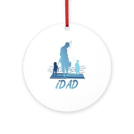 iDAD Ornament (Round)