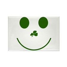 Irish Smiley Face Rectangle Magnet