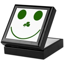 Irish Smiley Face Keepsake Box