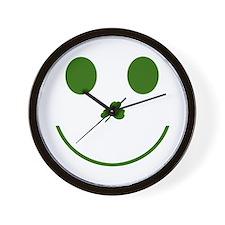 Irish Smiley Face Wall Clock