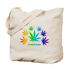Rainbow Amsterdam Pot Tote Bag
