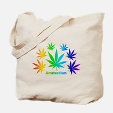 Rainbow Amsterdam Pot Tote Bag