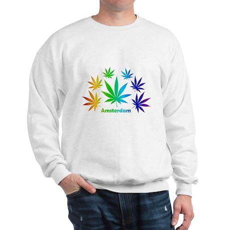 Rainbow Amsterdam Pot Sweatshirt