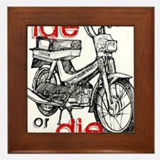 ride or die Framed Tile