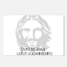 Don't let jesus Postcards (Package of 8)