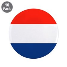 "Dutch Flag 3.5"" Button (10 pack)"