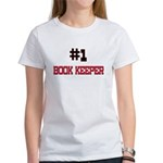 Number 1 BOOK KEEPER Women's T-Shirt