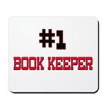 Number 1 BOOK KEEPER Mousepad