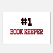Number 1 BOOK KEEPER Postcards (Package of 8)