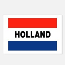 Holland Flag Postcards (Package of 8)