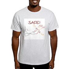 He's Safe Baseball T-Shirt