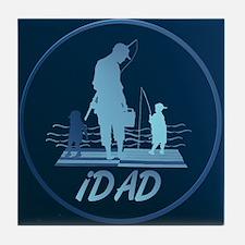 iDAD Framed Tile Coaster