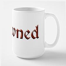 BDSM owned Large Mug