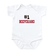Number 1 BODYGUARD Infant Bodysuit