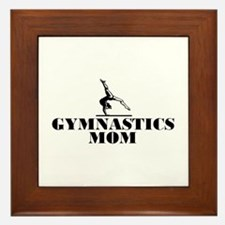 Gymnastics MOM Framed Tile