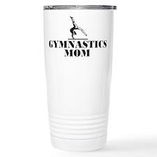 Gymnastics MOM Travel Coffee Mug