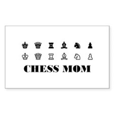 Chess MOM Rectangle Decal
